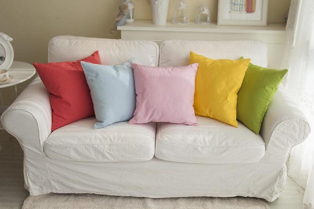 DIY: Throw Pillow Covers