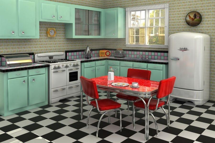 Retro Kitchen Paint Colours for 2021